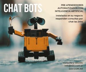 Chat Bots D2V