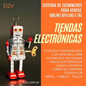 Tiendas Electrónicas D2V