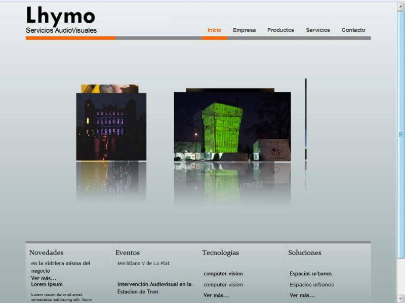 Lhymo web 2009