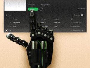 spotify robot music