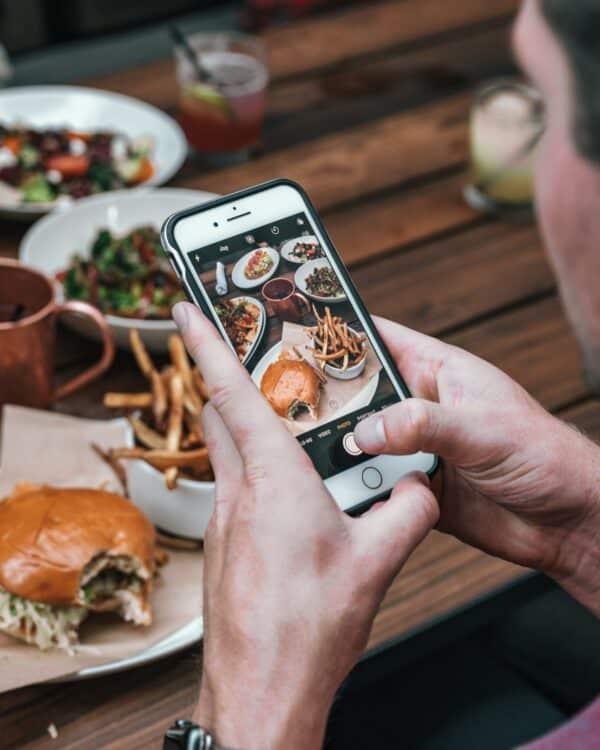menu digital gastronomia celular